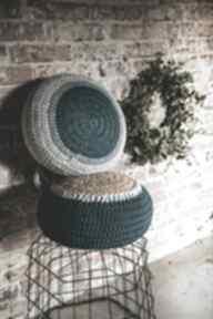 Pufa morska - siedzisko poduszka by monica sznurek, joga