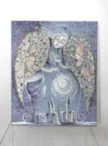 Magiczne gwiazdy anioła stróża marina czajkowska dom, obraz