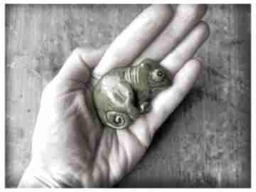 Kameleonik broszka broszki wylegarnia pomyslow ceramika,
