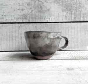 Beżowa filiżanka ręcznie wykonana kubki kmdeka kubek ceramiczny