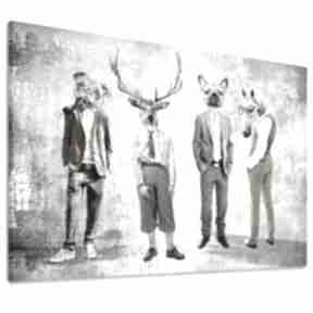 Obraz drukowany na płótnie gang, chłopaki w formacie 120x80cm