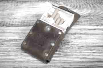 Skórzane etui na papierosy wersja slim i klasyczne, papierośnica