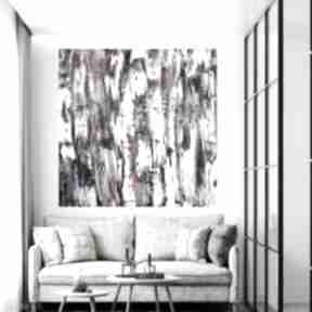 Obraz abstrakcyjny 100x100 byferens duży abstrakcyjny, akrylowy