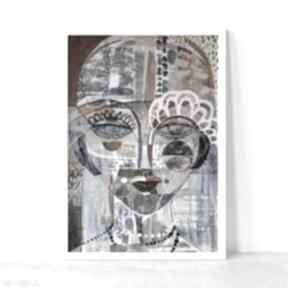 Plakat 40x50 cm - pola negri plakaty creo plakat, wydruk, twarz