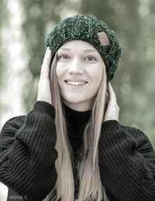 Fun zielenie czapki brain inside czapka, zimowa, wełniana, wełna