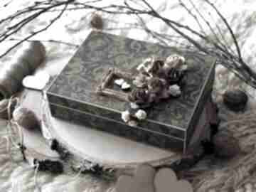 Ślub martitaland pudełko, pudełko na obrączki, pamiątka, drewno,