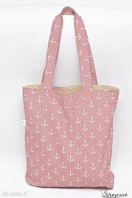 Uszyciuch. Torba na zakupy shopperka ekologiczna torba zakupowa