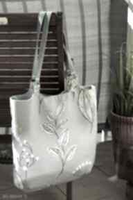 Kwiatowa torba worek na ramię happyart torba, wiosna lato