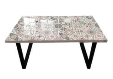 Wheels-nowoczesny stolik loft kawowy do salonu stoły art and