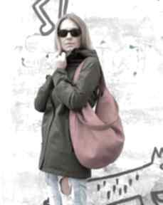 Bags Philosophyczerwona duża torba na ramię pojemna