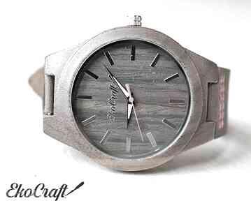 Drewniany zegarek starling zegarki ekocraft zegarek, drewniany