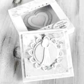 Pomysł jaki prezent pod choinkę: Kartka na komunię świętą