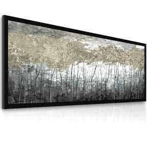 Obraz drukowany na płótnie - nowoczesny pejzaż abstrakcyjne