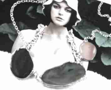 naszyjnikinaszyjnik-kolia naszyjnik-kamienie asymetryczny karneol