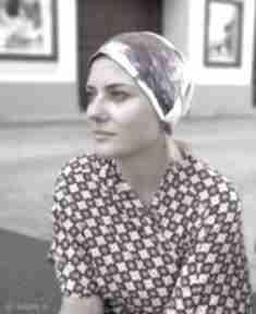 Czapka damska dzianina bez podszewki bieganie czapki ruda klara