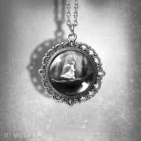 """Medalion """"magiczny las"""" - romantyczny naszyjniki liliarts"""