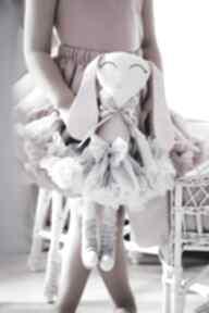 Malina króliczek baletnica 45 cm maskotki groko design maskotka