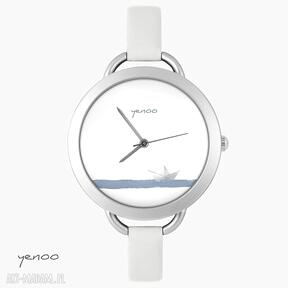 Zegarek, bransoletka - papierowa łódeczka zegarki yenoo