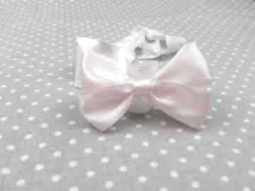 Opaska kokardka gumce dla dziewczynki kokarda prezent dziecko