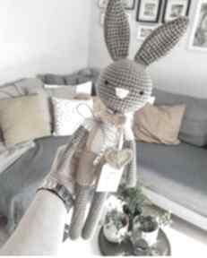 Królik tadek - szydełkowy przyjaciel twojego dziecka maskotki
