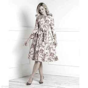 Sukienka marie 3 4 midi sybilla sukienki livia clue midi