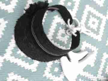 ozdoby do włosówletni daszek czarny rafia