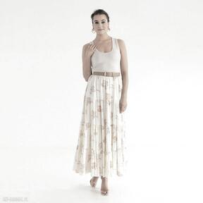 Spódnica 7 ss 2021 spódnice pawel kuzik falbany, letnia, długa