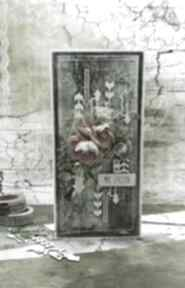 Moc życzeń - męska kartka w pudełku vol 6 scrapbooking kartki