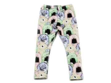 Potworki ciepłe legginsy z dresówki, całoroczne spodnie