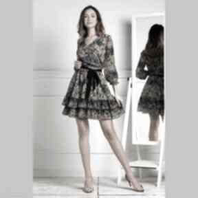 Sukienka neva mini annika sukienki livia clue mini, z-falbanami