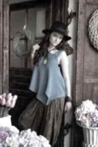 Bluzka asymetryczna bluzki hermina bluzka, asymetryczna