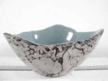 ceramikana-owoce dekoracyjna prezent-parapetówka turkusowa
