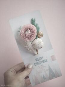 Prezenty świąteczne: Karteczki 3d na prezent scrapbooking kartki
