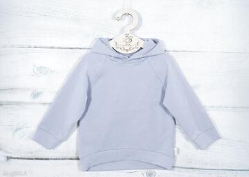 Bluza z kapturem fino lilla dla chłopca, dziewczynki, wygodna