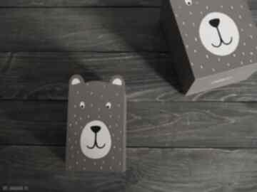 Mały - pojemnik na kredki niedźwiadek 1szt pokoik dziecka