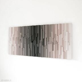 """Mozaika obraz drewniany 3d """"vultures"""" na zamówienie wood light"""