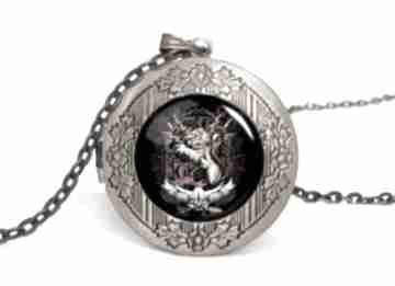 Gryffindor sekretnik łańcuszkiem harry potter lew prezent ręcznie