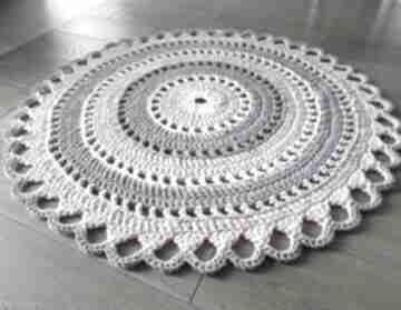Dywan trzy kolory ze sznurka bawełnianego, 110 cm artedania