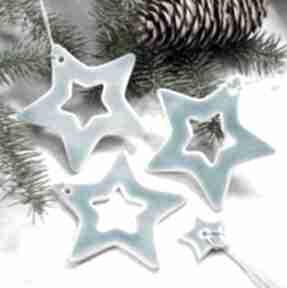 Pomysł na świąteczne prezenty. Gwiazdy zestaw zawieszek dekoracje