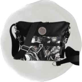 Torebka modułowa black 4w1 - oriental torebki tasha handmade