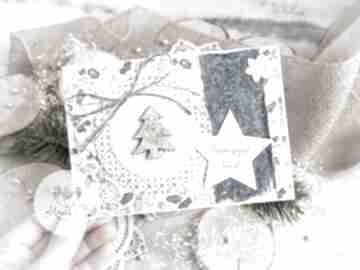 Upominki na święta! Piękna kartka na święta bożego narodzenia