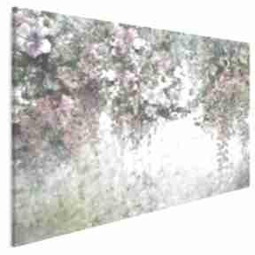 Obraz na płótnie - ogród kwiaty natura 120x80 cm 78701 vaku dsgn