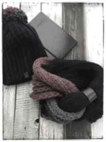 Czapka i komin czapki wnetrze z gustem czapka,