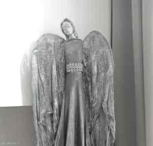 dekoracje. anioł-stróż figura-anioła talizman dekoracja-salonu