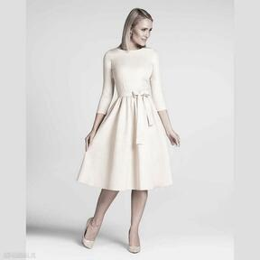 Sukienka marie 3 4 midi vanillia sukienki livia clue midi