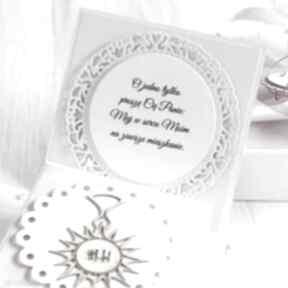 Pomysł na święta prezent? Pudełko kartka na komunię świętą