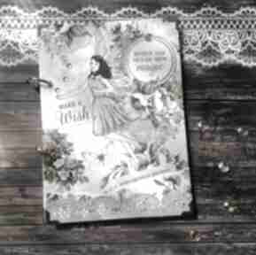 Notes pamiętnik make a wish scrapbooking notesy damusia