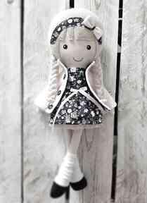 Malowana lala nela lalki dollsgallery lalka, przytulanka