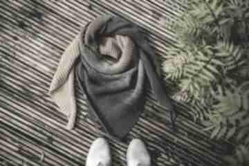 by monicarękodzieło szydełko bawełna szal prezent