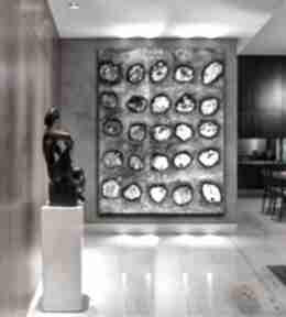 Kamienna iluzja - obraz na płótnie art and texture plotnie